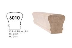 6010 wooden stair handrail