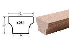 6084 wooden stair handrail