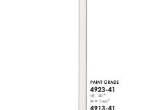 4913-4923 wooden balusters