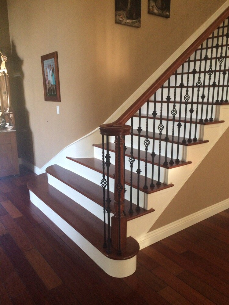 Staircase projects all things interior - Interior stair railing contractors ...