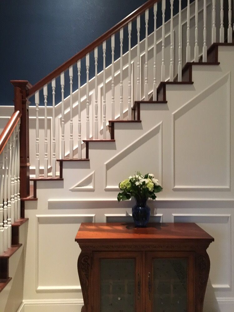 wood balusters for stair remodeling