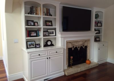 New built-in cabinet