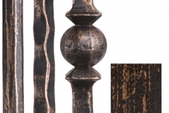 orb stair parts iron balusters