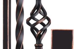orc stair parts iron balusters