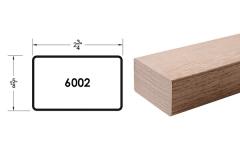 6002 wooden stair handrail