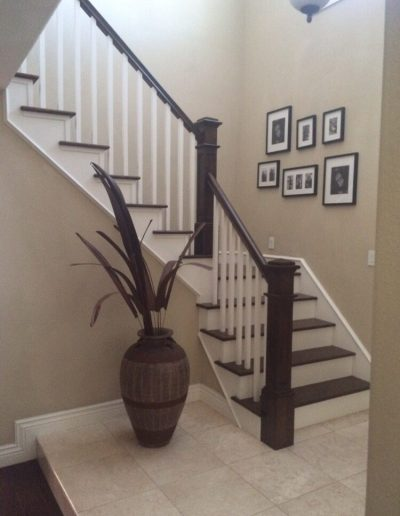 Wooden stair parts and remodel