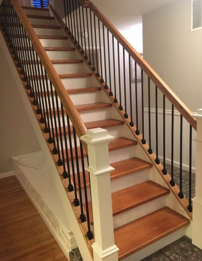 Stair panels and balusters