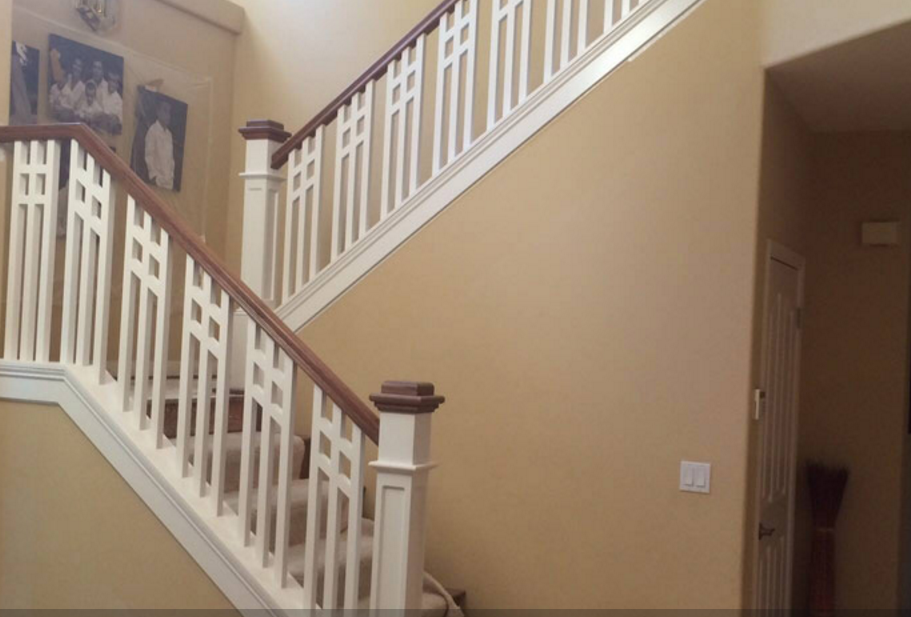 Stair Remodel and Cabinet Remodeling by All Things ...