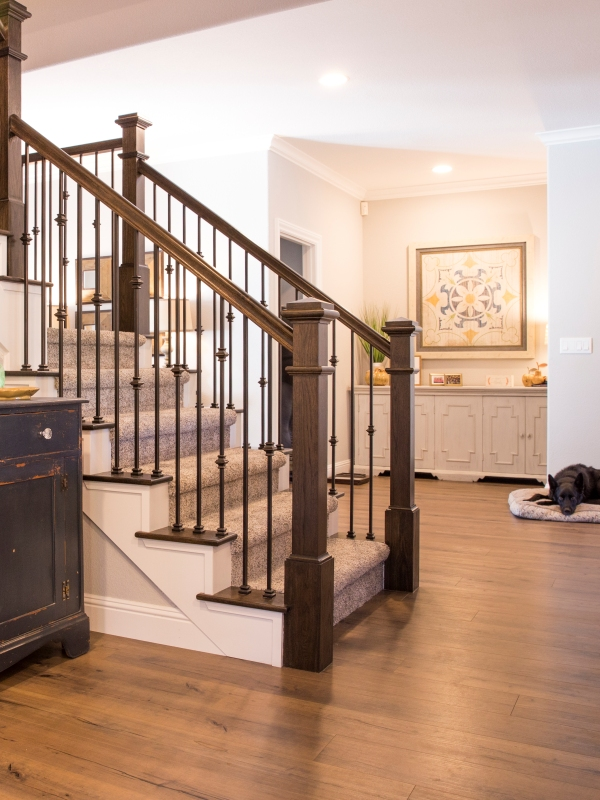 iron baluster stair parts